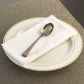 GlimmerWare Full Size Plastic Cutlery Table Spoons. Packed 20 or 600 to a Case.