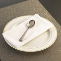 GlimmerWare Full Size Plastic Cutlery Tea Spoons . Packed 20 or 600 to a Case.