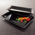 "10"" X 14"" Plastic Serving Tray Available In 3 Colors. Packed 25 to a Case"
