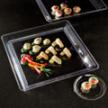 "16"" X 16"" Square Plastic Serving Tray Available In 3 Colors. Packed 20 to a Case"