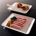 "8"" X 10"" Plastic Serving Tray Available In 3 Colors. Packed 20 to a Case"