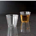 1 Ounce Plastic Shot Glasses. Pack of 50 or Case of 2500 Glasses