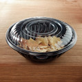 Yoshi PrepServe Clear Covers for 160 Ounce Bowls . Packed 25 to a Case.