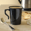 8 Ounce Polypropylene Coffee Mug Available in 3 Colors. Packed 500 to a Case.