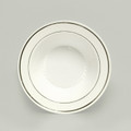 Maryland Regal White And Silver 12 Ounce Soup or Salad Bowls. Packed 12 or 120 to a Case