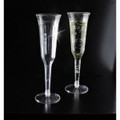 Yoshi  - 5 oz. Fluted  2 Piece Champagne Glasses. 120 to a Case