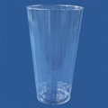 Luminere Crystal 16 Ounce Plastic Glasses. Packed 120 to a Case.
