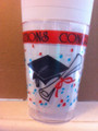Comet Plastic 10 Ounce Graduation Cups. Packed 500 to a Case.