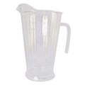 Maryland Plastics Clear Heavyweight Pitcher. Sold  in Cases of 12 or by the Piece