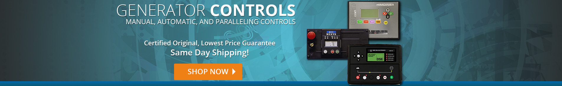 Generator Control panels in Stock, Deepsea, SDMO, Basler, ComAp, Hipower and more