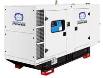 125 KW JOHN DEERE powered Generator 156 KVA, Three phase, GENPOWERUSA J125UC3-IV