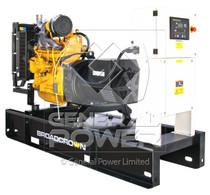 20 KW JOHN DEERE powered Generator 20 KVA, Single phase, BROADCROWN BCJD23-60SPiT4