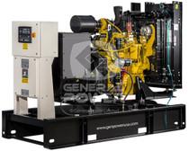100 KW JOHN DEERE Generator 125 KVA, Three phase, BROADCROWN BCJD100-60T3F