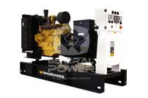 200 KW JOHN DEERE powered Generator 250 KVA, Three phase, BROADCROWN BCJD200-60T3F