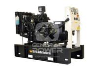 18 KW YANMAR Generator 18 KVA, Single Phase, BROADCROWN BCY18-60SP
