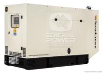 28 KW JOHN DEERE Generator 28 KVA, Single Phase, BROADCROWN ACBCJD28-60SP