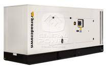 250 KW VOLVO Generator 313 KVA, Three Phase, BROADCROWN ACBCV250-60