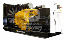 1000 KW CUMMINS Generator 1250 KVA, Three Phase, BROADCROWN BCC1010S-60