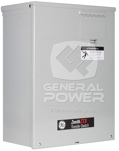 Ge Zenith 100 Amp Transfer Switch 2 Pole Automatic Ats