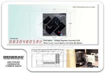 Generac 0830480SRV Voltage Regulator AVR