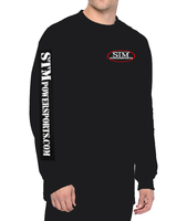STM Black Long Sleeved T-Shirt with Arm Print - 2XL Only
