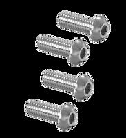 "Pneumatic Clutch 10-24 x 5/8"" BHCS Button Screw Set  (4)"