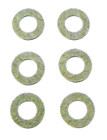 1st Stage Cam Arm Washers Jr. Dragster Set of 6