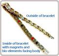 528 Women's Healing bracelet (gold)