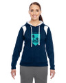 Lakeside Soccer - Color Block Hoodie, Ladies