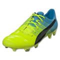 Puma Evopower 1.3 FG - Yellow/Blue