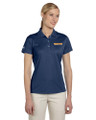 adidas Womens Polo, Front, Navy (Empire)