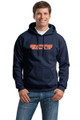 Empire Hooded Sweatshirt, Navy