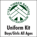 Timber Barons Uniform Kit *BUNDLE*