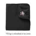 Pilchuck Soccer Alliance Fleece/Nylon Blanket - Black