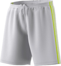 adidas Condivo 18 Goalie Shorts, Front, Grey/Neon Yellow