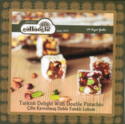 Double Pistachio Turkish Delights - Cifte Fistikli Lokum (400gr)