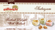 Sadrazam Turkish Delights (W / Walnut) - Sadrazam lokum Cevizli