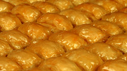 Light Baklava  - No sugar, no butter ( natural stevia sweetener)