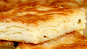 Large Tray of Su Boregi Cheese (phyllo dough layers w/cheese) 1 TEPSi