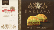 1lb Box - Cevizli Baklava w/Walnuts sealed box - 14pcs