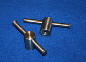 450S Round Swivel Clamps: 1/2:13 thread