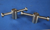 800S Swivel Clamps. 5/8:11 Threads  (Pair)