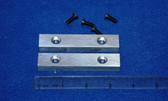 3-1/2 x 5/8 x 7/16 Aluminum Wilton Vise Jaws:  Fits the early Wilton Vises