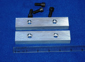 5 x 1.0 x 5/8 Aluminum Wilton Vise Jaws:  Fits the Wilton C2 Vise and others
