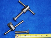 3/4 Hex Swivel Clamps  1/2:13 thread with Carriage Bolts