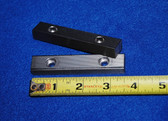 3-1/2 x 5/8 x 7/16 Straight Serrated Wilton Vise Jaws:  Fits the early Wilton Vises