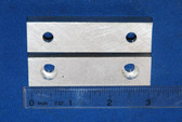 3 x 3/4 x 1/2 Aluminum Wilton Vise Jaws: Fits the Wilton #8300, 9300 and 101014