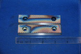 3-1/2 x 3/4 x 1/2 Serrated Wilton Vise Jaws:  Fits the Wilton Cadet and others.