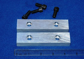 4-1/2 x 1.0 x 5/8 Aluminum Wilton Vise Jaws:  Fits the Wilton #9450 Vises and others