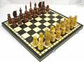Wooden Hand Carved Chess Set